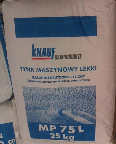 Knauf Tynk Gipsowy Lekki Mp 75l 25kg
